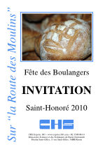 Invitation Saint-Honoré 2010