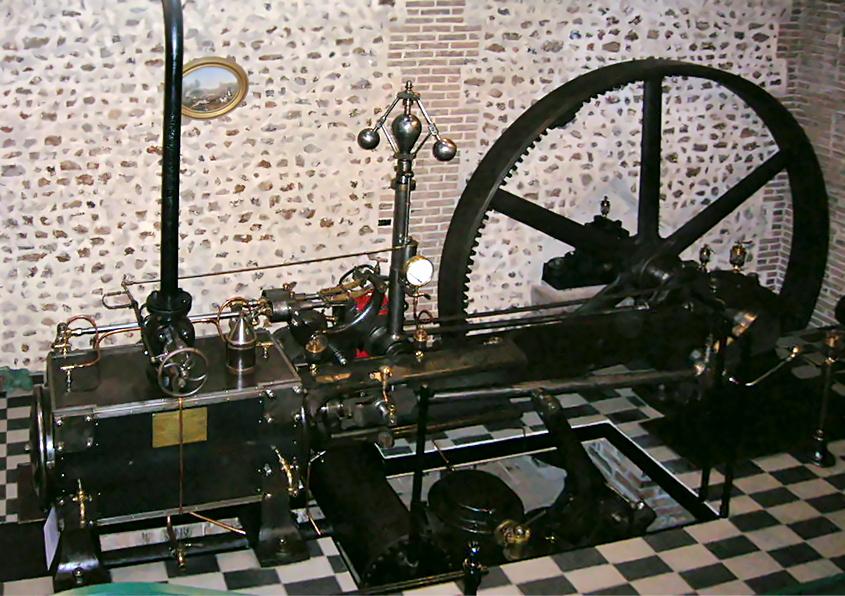 Machine à vapeur Crépelle de 1905