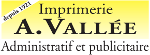 Imprimerie Vallée