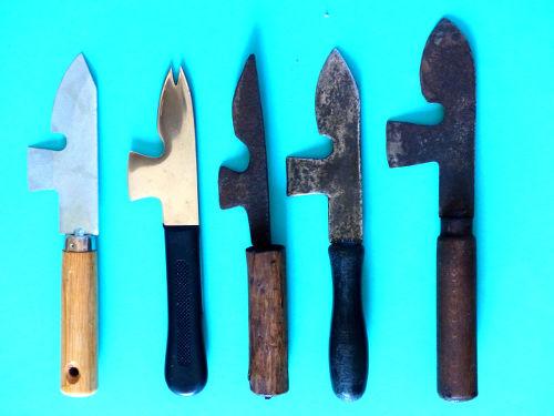 Couteaux de marine